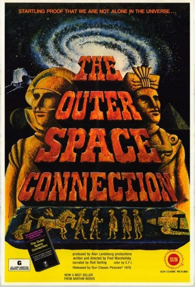 the outer space connection 1 sheet 1975 original movie poster