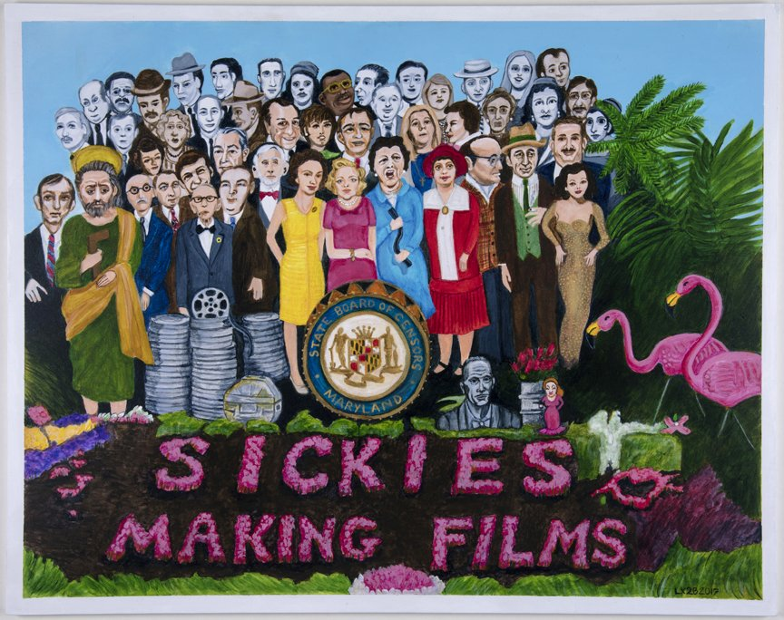 sickies making films painting