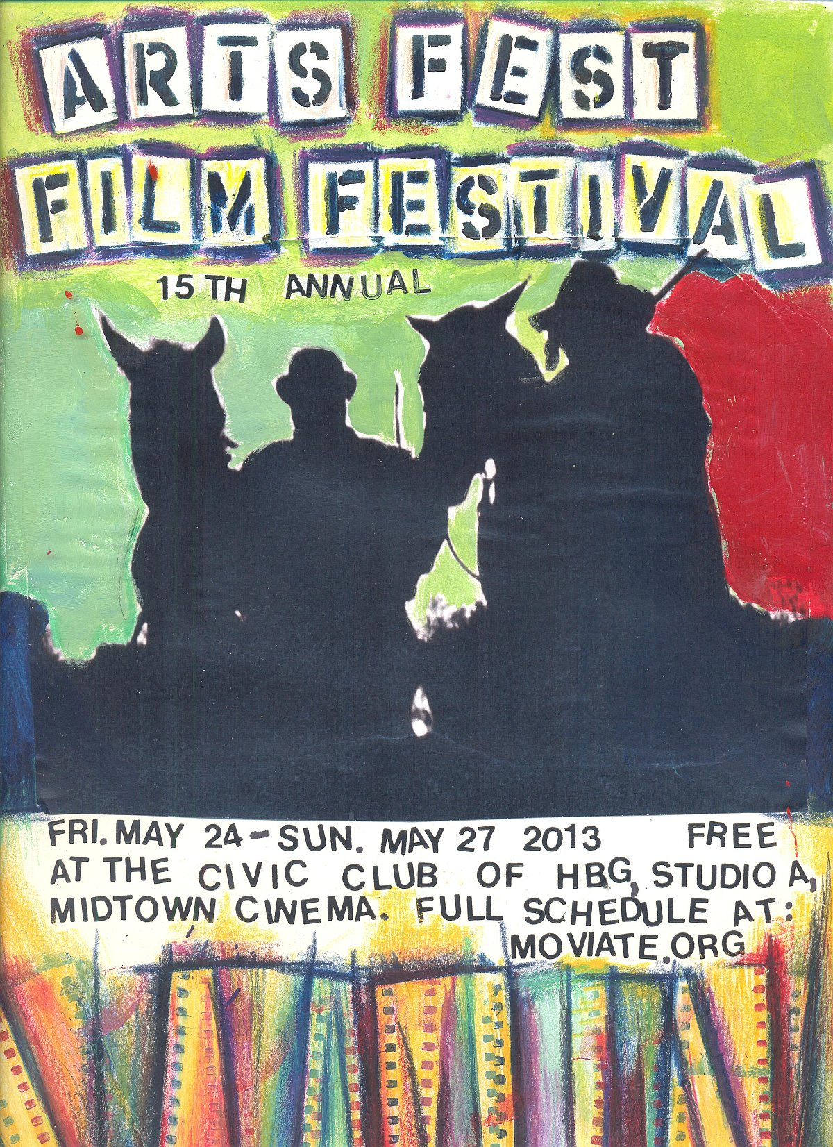 Moviate Artsfest Film Festival 2013 Color Poster 1200px